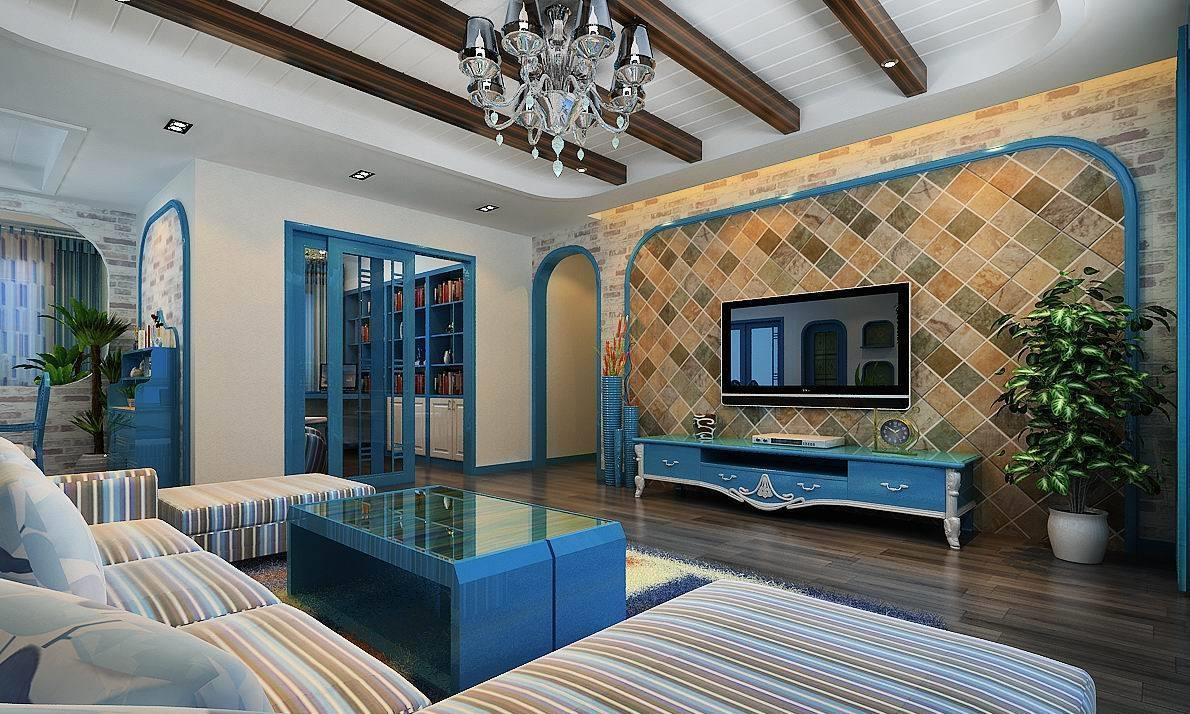 你喜欢地中海风格装修吗?
