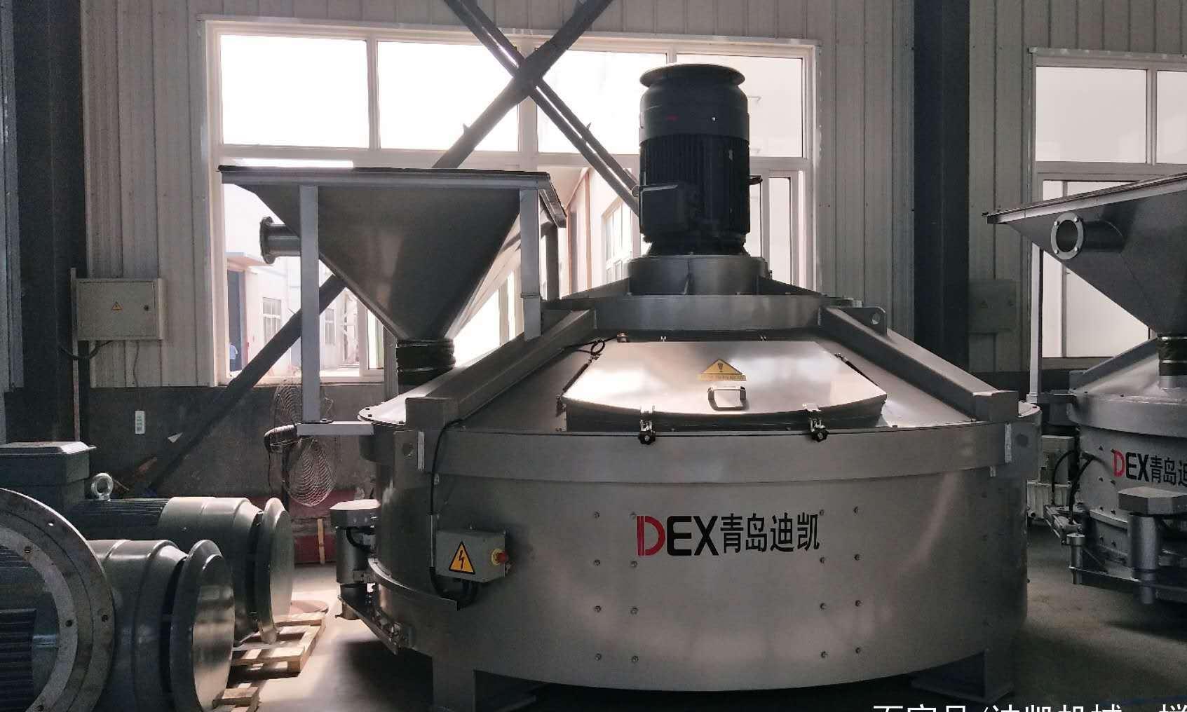 行星式搅拌机型号不同直接制约着搅拌物料的出料容量