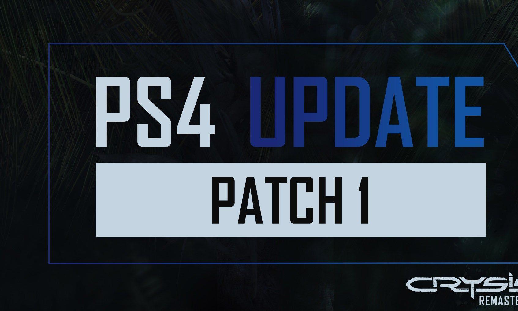 《孤岛危机高清版》PS4版更新中文字幕