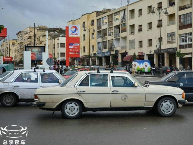 非洲最牛的出租车,30年的老车算中年,个别已跑百万公里