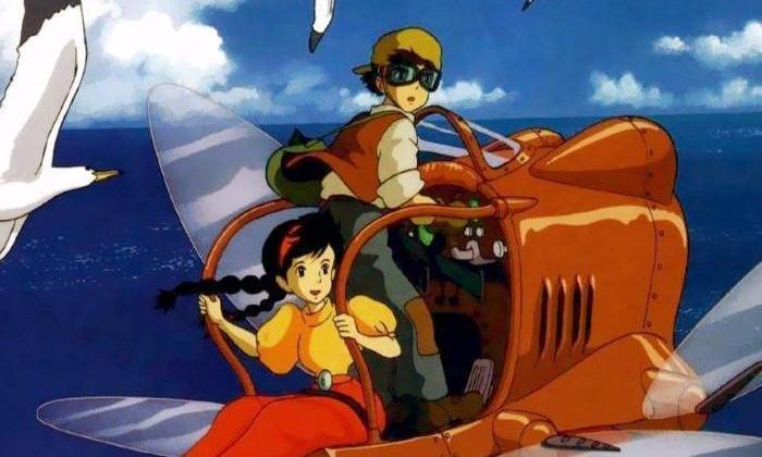 《天空之城》,男孩子的梦想是天空,是飞机自由的翱翔