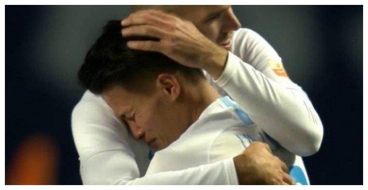 成功帮助球队保级 林良铭赛后喜极而泣