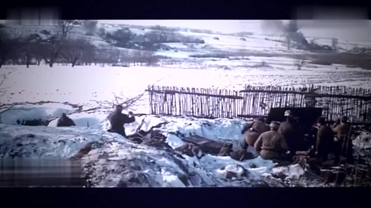 二战史诗级战争片,德军坦克队一路猛攻,辗压大炮杀入村庄