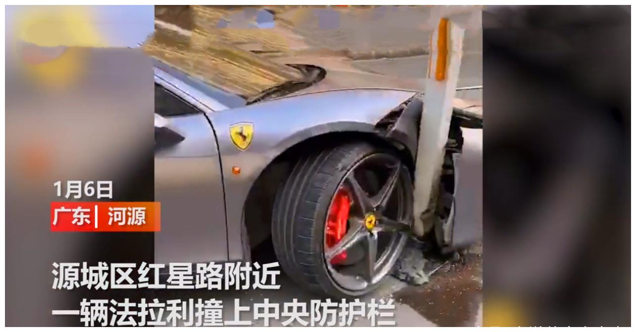 广东发生一起事故,位于河源市,现场的状况让人捏一把汗