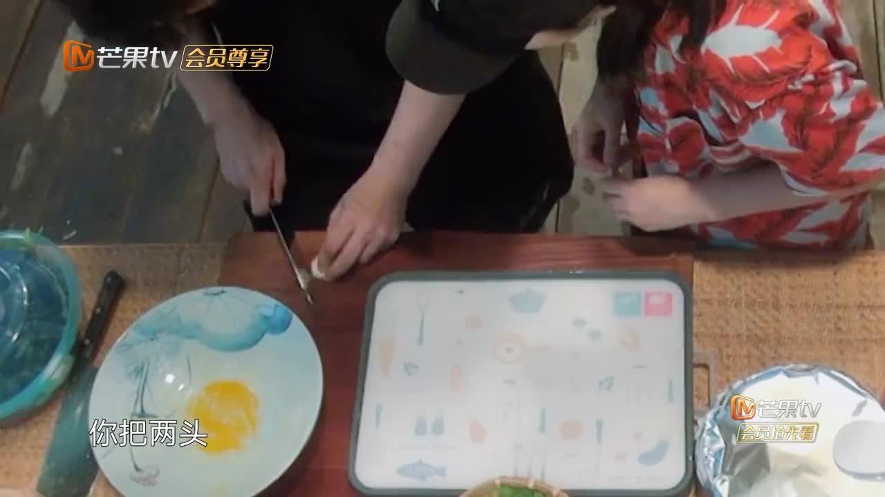 向往:黄晓明中餐厅上瘾,专业打下手,黄磊:回头咱们搞个西餐厅