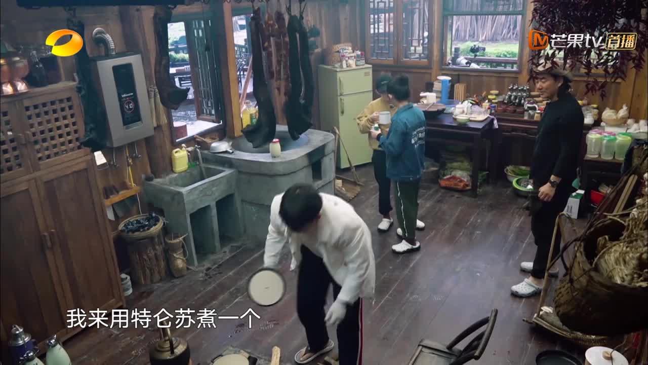 向往:黄磊教学醪糟冲蛋,光看用料就眼馋,任贤齐直呼要做邻居!