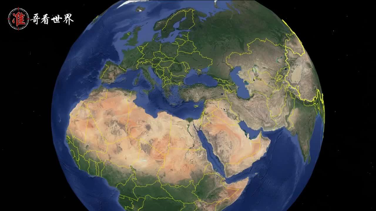 世界上最悲催的五个沿海国家,国土面积不小,海岸线却憋屈的要死