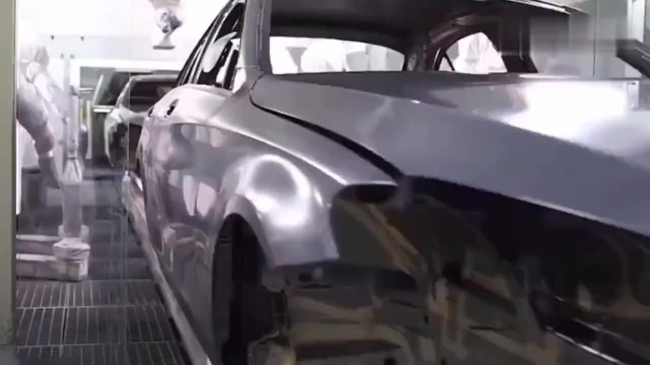 奔驰C级生产过程,带你走进汽车工业