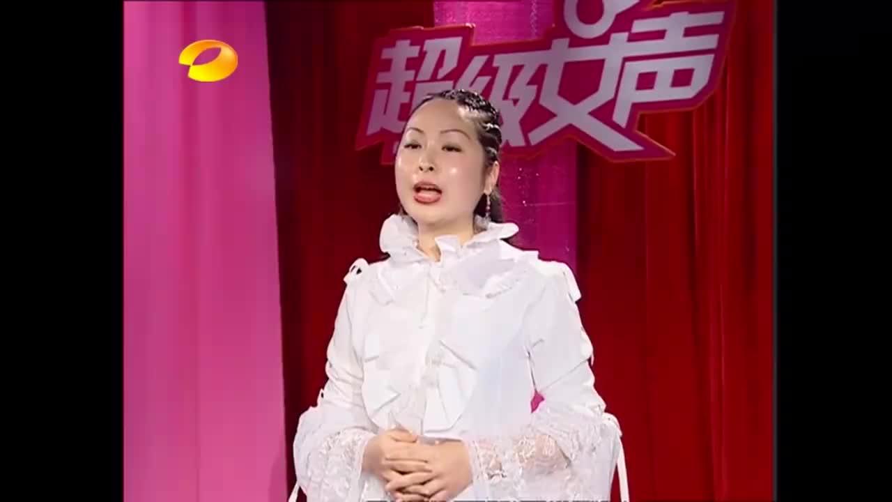 超级女声:美女自称职业歌手,刚开唱就被按铃,评委摇头拒绝!