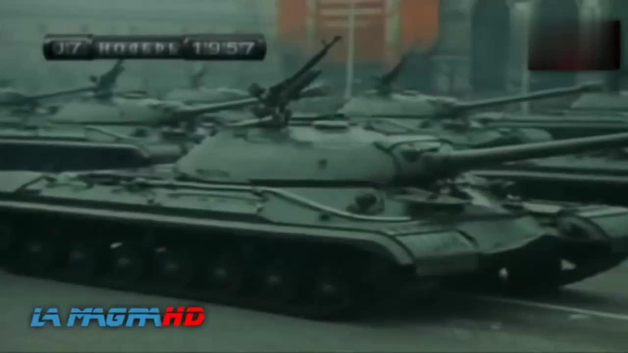 冷战时期苏联T-10重型坦克 苏联最后一种重型坦