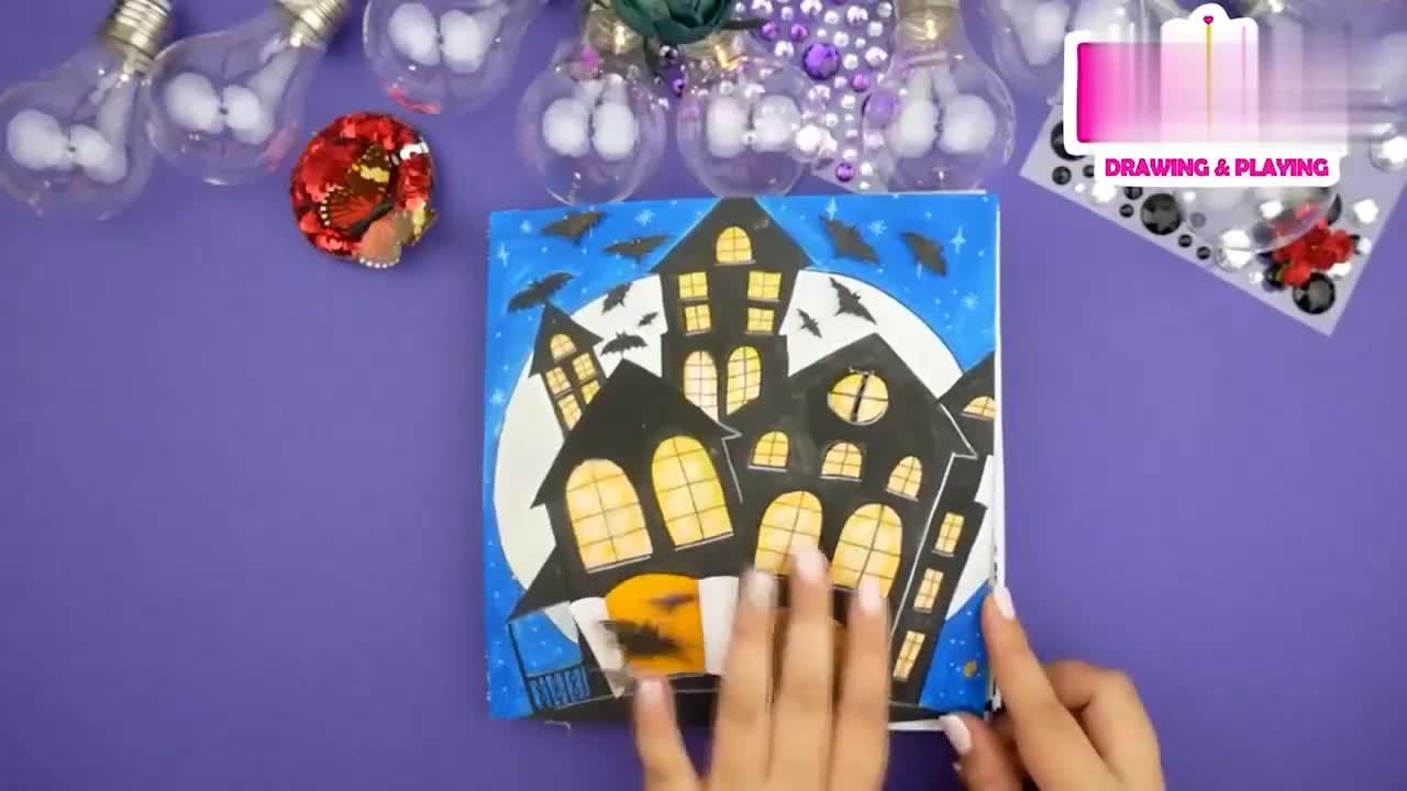 创意手工书,给纸娃娃DIY趣味亲子装扮,简单有趣换装益智贴!