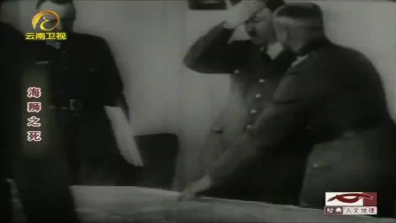 德国准备侵略英国,海陆军为保证自身利益吵架,一人却说:我来!