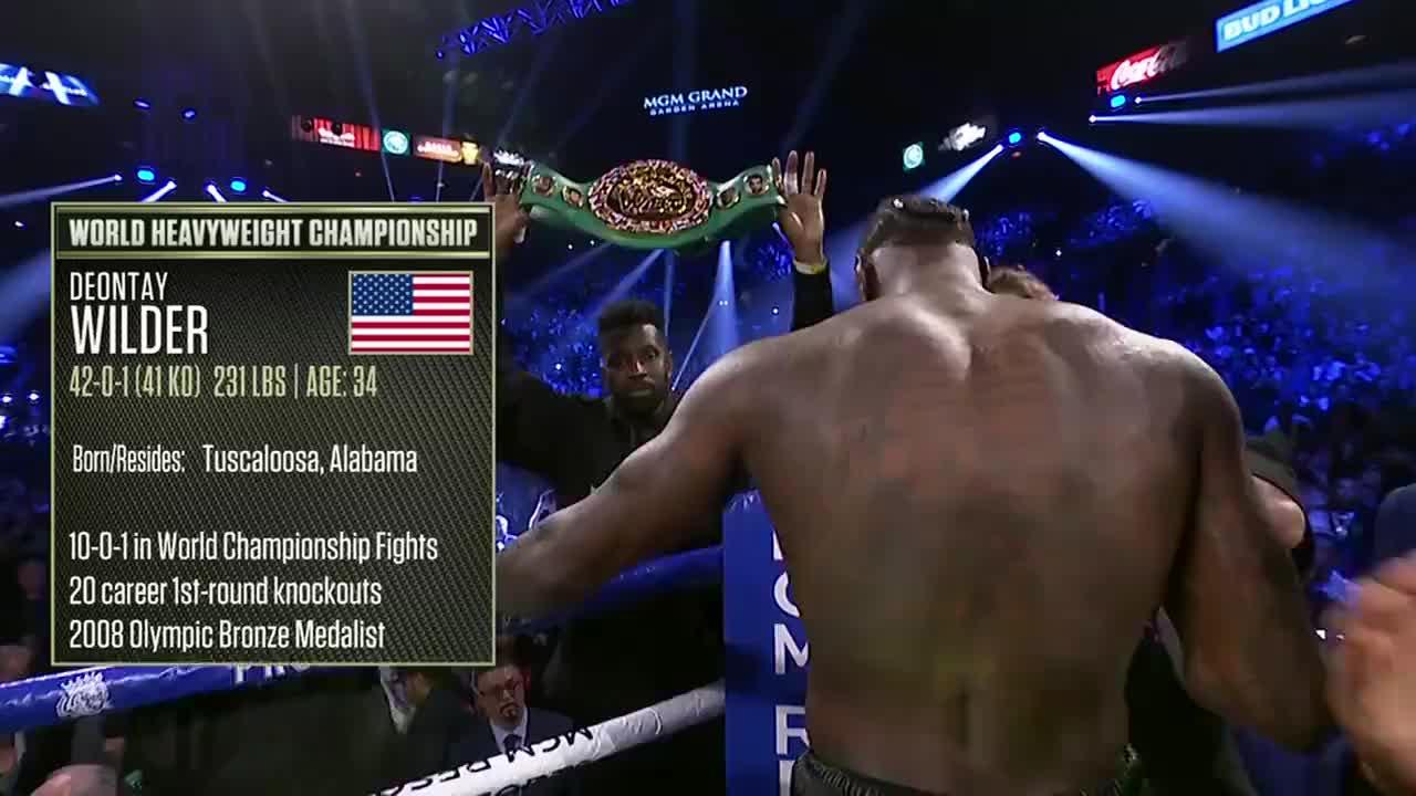 最新重量级拳王争霸战,泰森富里七回合重拳KO维尔德赢得胜利