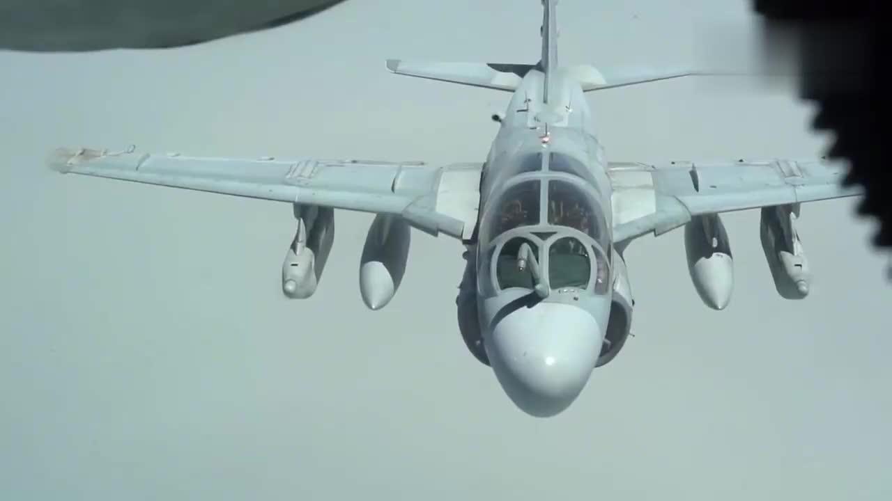 """EA6B电子战机终退役,美军今后再也不能在空中""""打麻将""""了"""