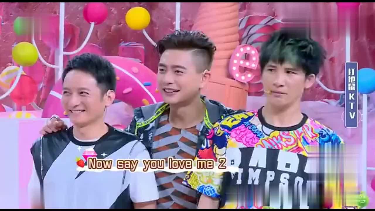 陈伟霆现场和甜心穆雅斓 一起跳《love u 2》