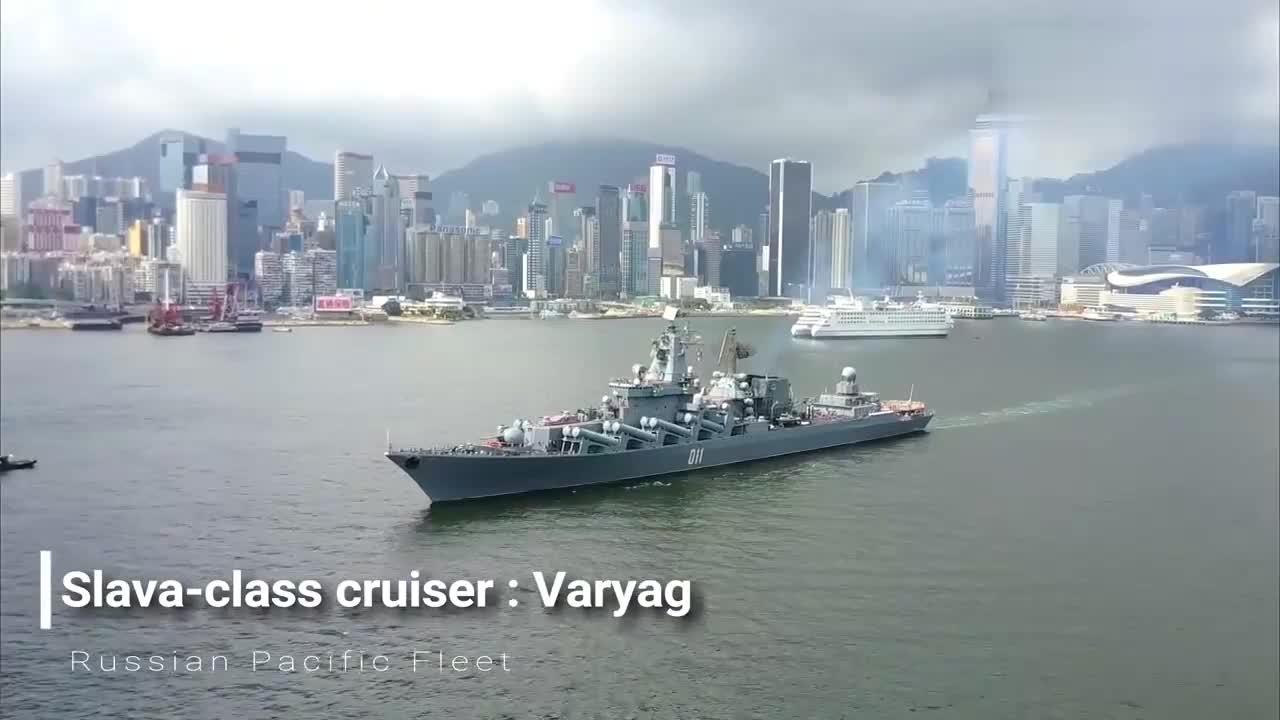 俄罗斯海军:瓦良格号巡洋舰