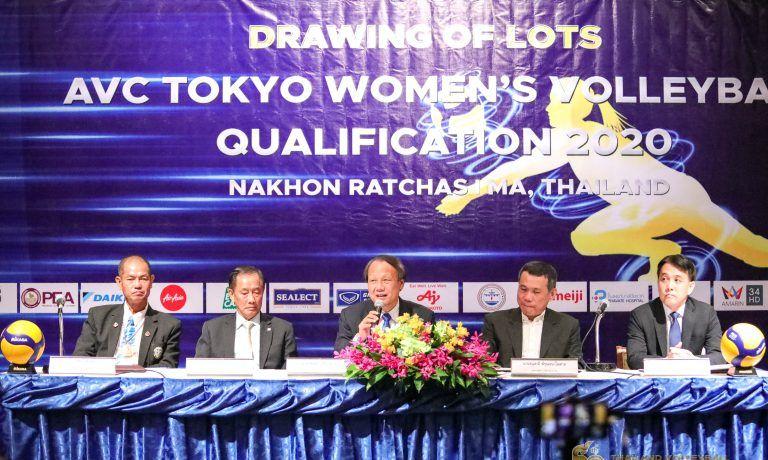 东京奥运会女排落选赛亚洲区分组揭晓,泰国女排主场力拼第一出线