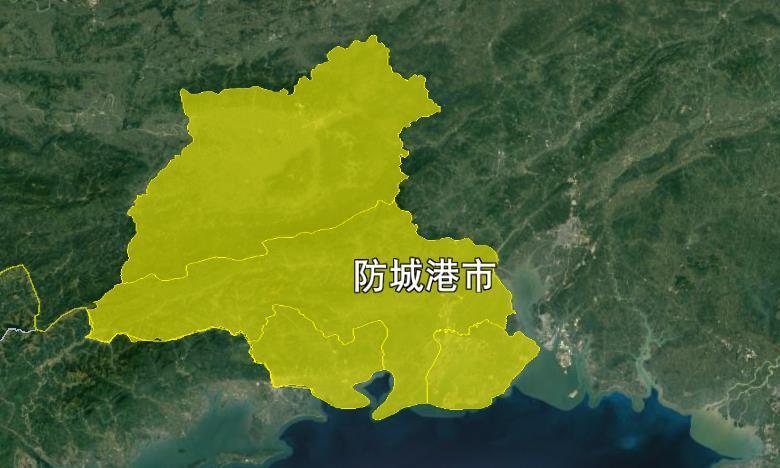 广西防城港市,坐拥优良港口为何经济发展不起来?但人均却很高