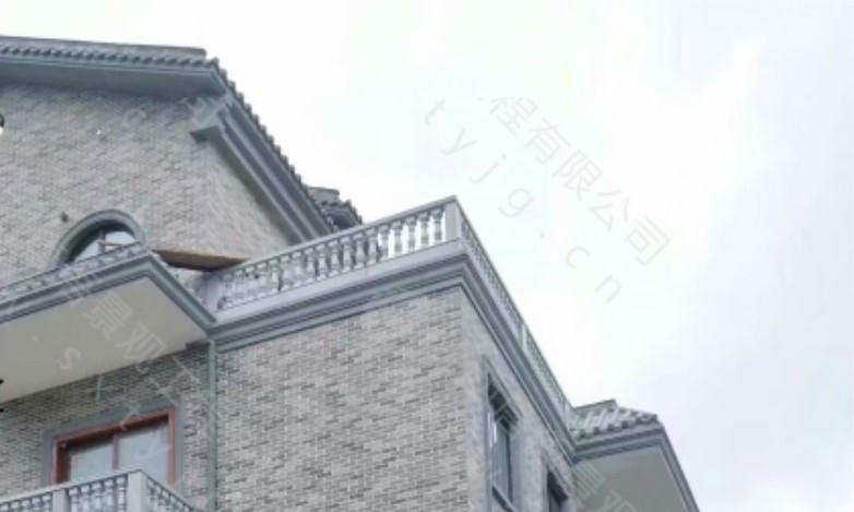 带有砖雕元素的别墅这样设计,个性又大气
