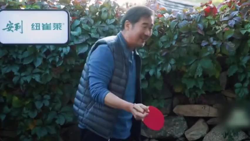陈建斌乒乓球打的太好了,张国立佩服你就是来收拾我的