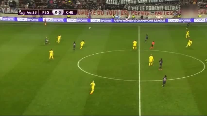 带不动!王霜角球造乌龙难救主,巴黎女足总分2-3切尔西欧冠出局