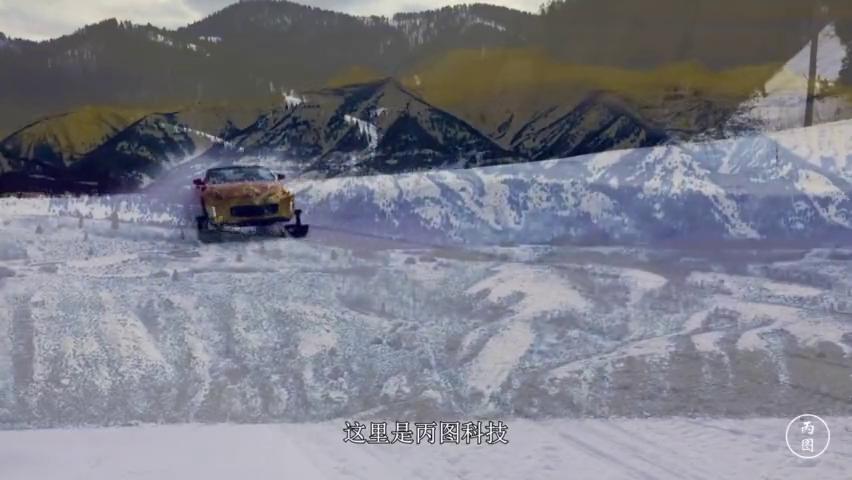 日本人脑洞真不小,给敞篷跑车装上滑雪板和履带,越野性能爆表!