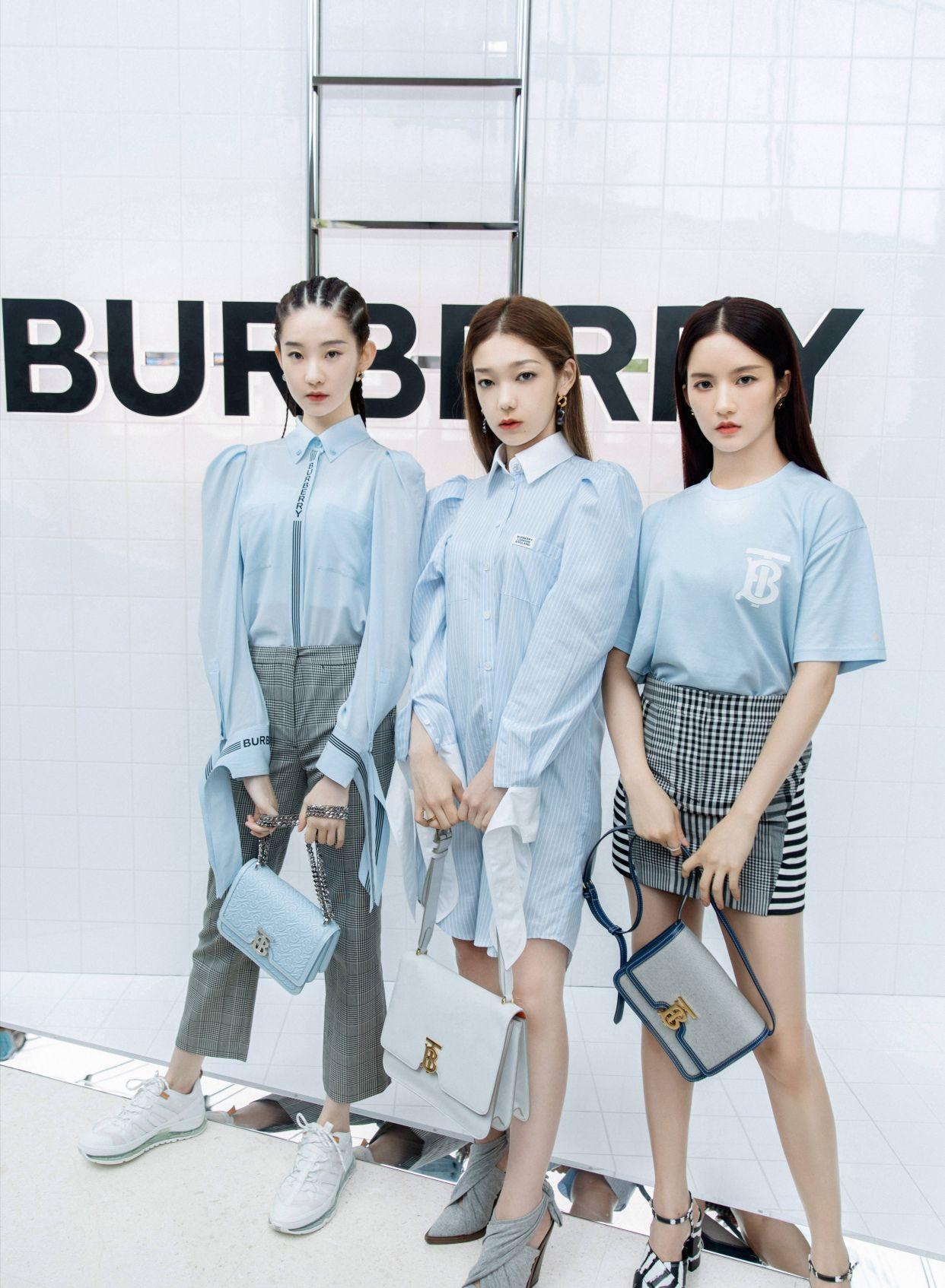 希林娜依·高、刘些宁、张艺凡出席品牌活动,来看看时尚表现力如