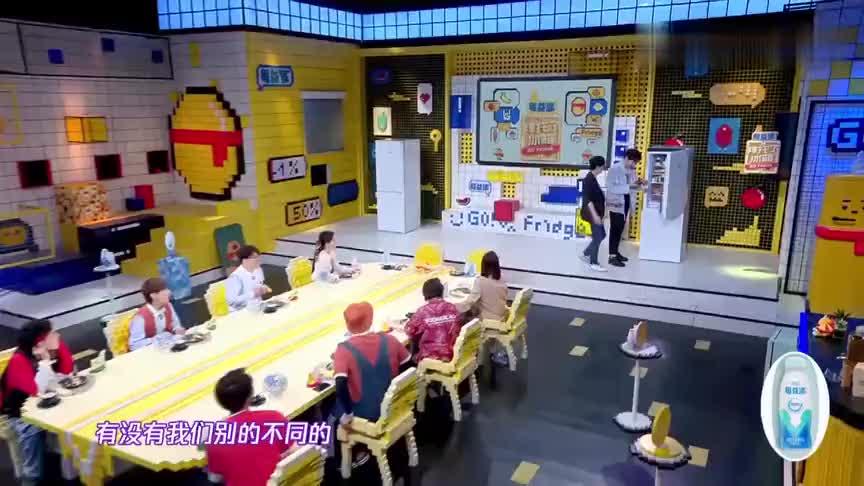 陈乔恩不断分享美味酱料,全场欢呼,何老师开心的像个孩子!