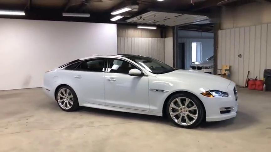 视频:汽车:优雅气派的百万豪车面子不输BBA,内外实拍展示捷豹XJ