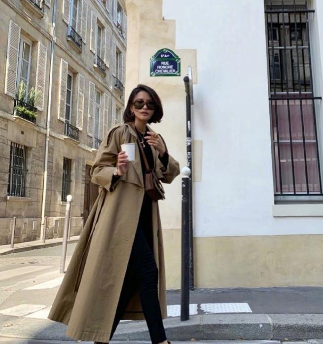 40岁的女人,想在换季时节时尚不失温度,就跟这位波兰博主学穿搭
