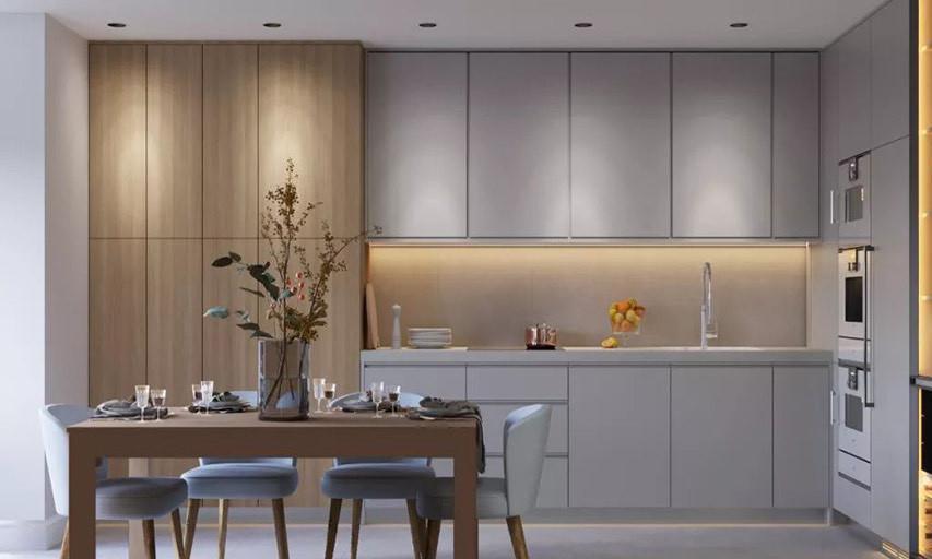 整体家装流行的厨房设计,颜值高收纳强,赶紧收藏!