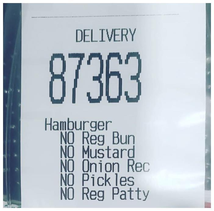 专治不服!女子点麦当劳汉堡,备注啥都不要,结果送来两包番茄酱