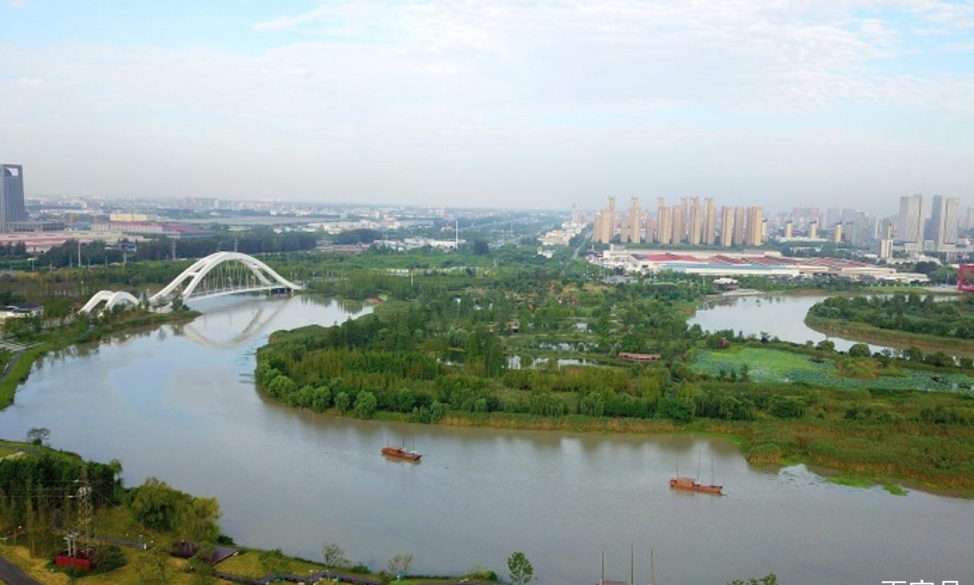 运河三湾,盛夏扬州的美丽画卷