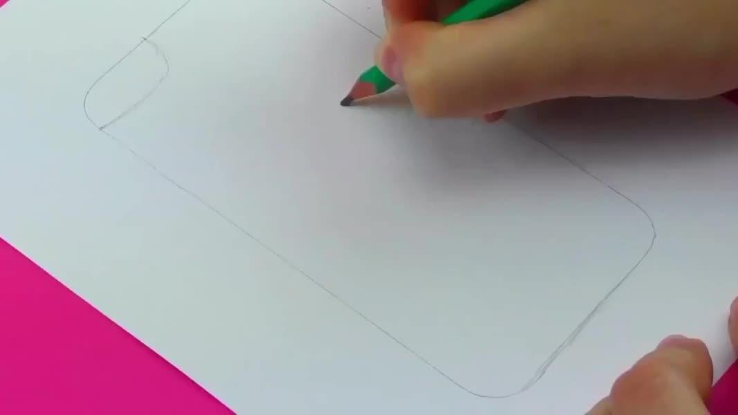 现场DIY独一无二手绘手机壳,敢快学起来吧!