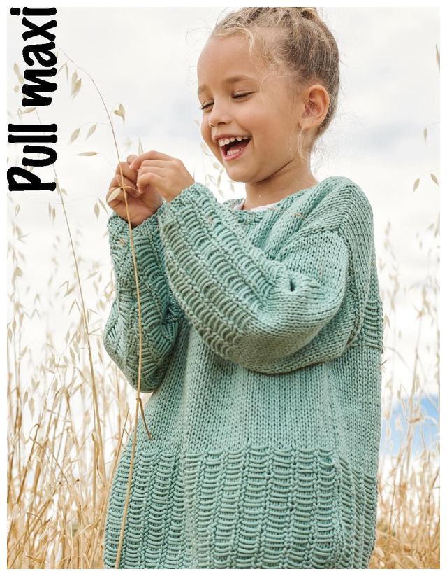 「针织图解」Piu Magliaj最新的20款儿童服装配饰(部分图解)