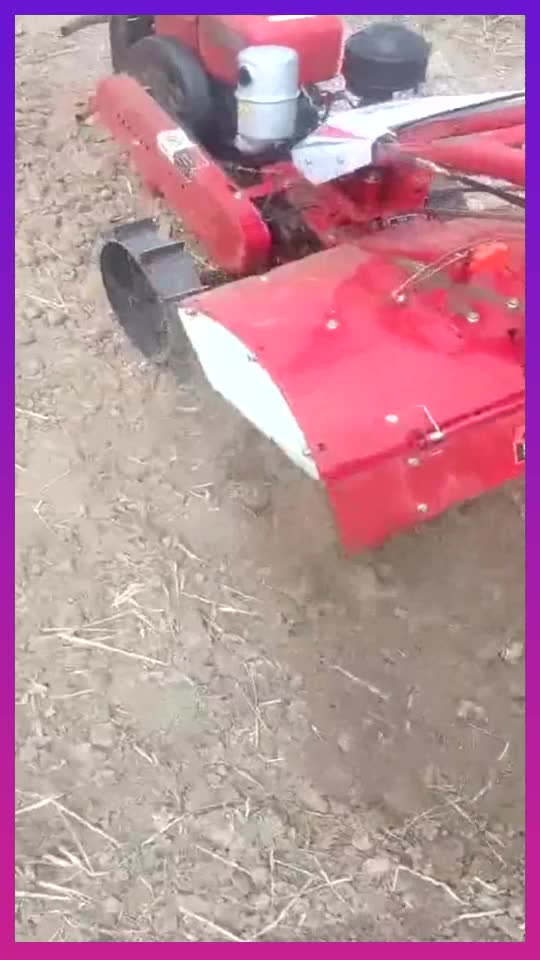 水冷180柴油机微耕机手柄可以360度旋转不愧是中国制造