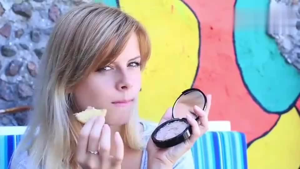 有趣恶作剧,DIY一套可以吃的化妆品,这点子会不会很酷!