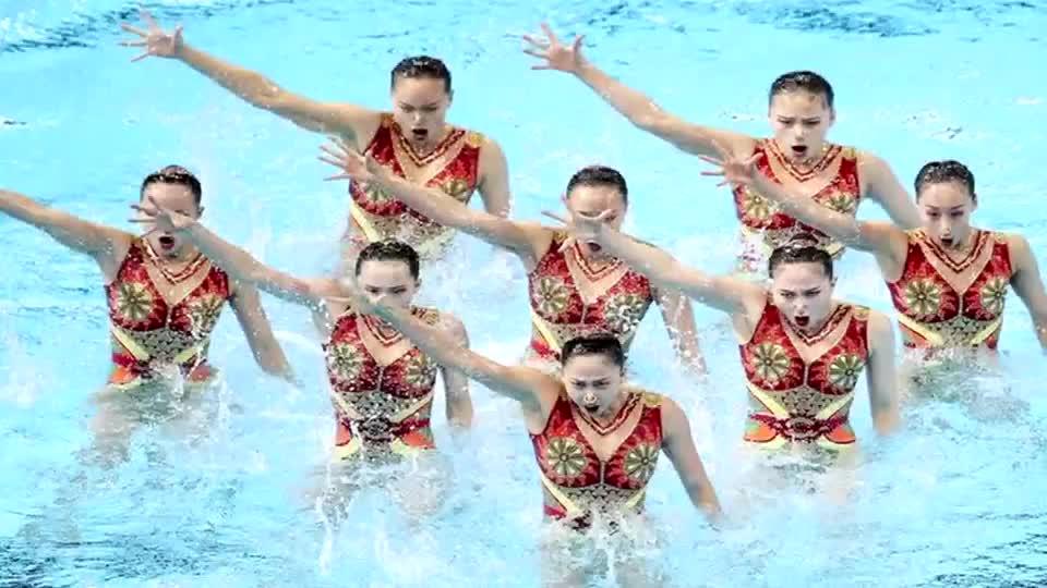 再添一银!世锦赛中国花样游泳表现出色 整套节目编排难度大