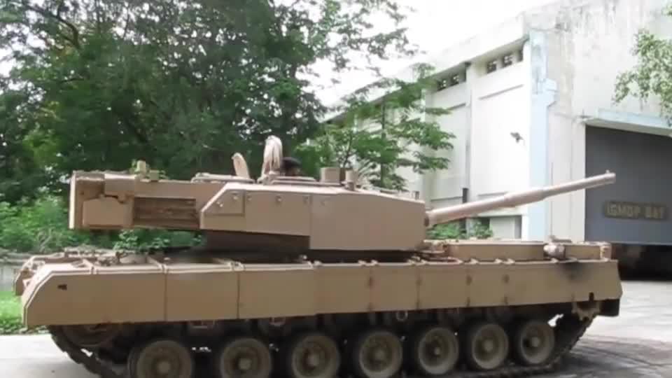 """号称印度""""陆战之王""""的阿琼坦克,满满的印度工艺!"""
