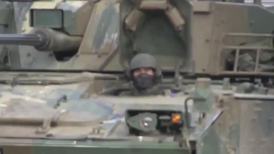 实拍韩国K21步兵战车,自称亚洲第一的步兵战车!