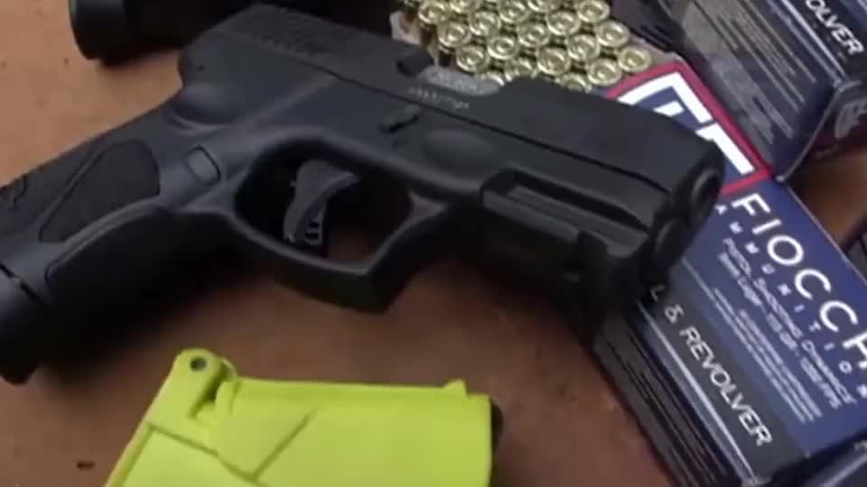 新金牛座G3c半自动手枪,弹匣快速装弹,靶场射击实测