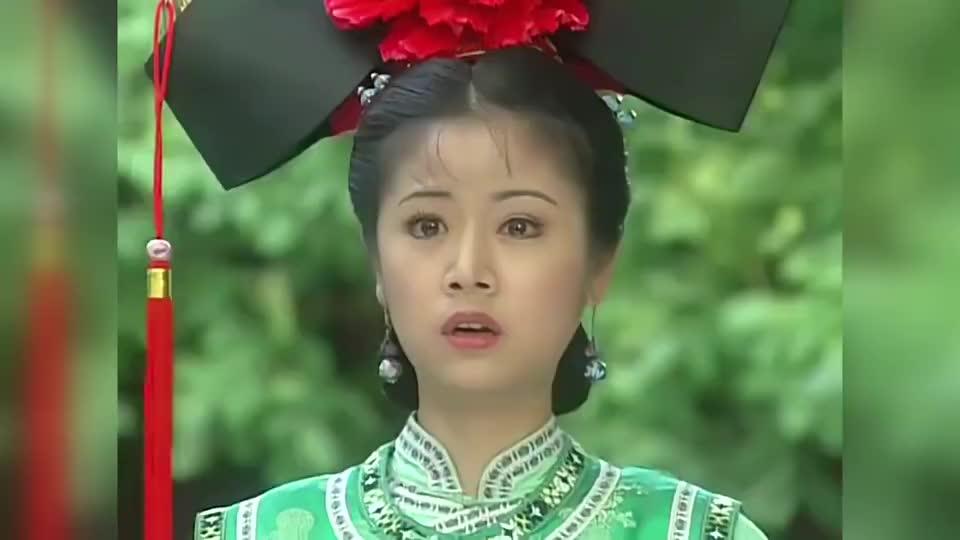 小燕子情急之下说出真相,紫薇才是真正的格格,皇后的小表情亮了