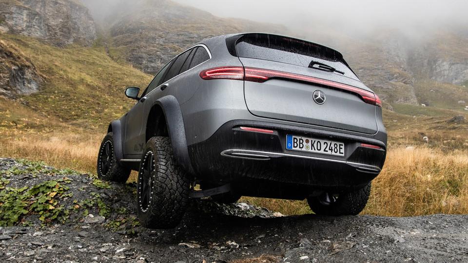 奔驰推出EQC 4×4²概念车,有史以来最强越野EV?