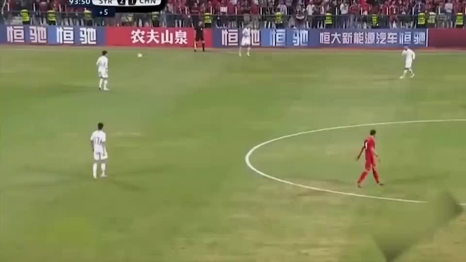 世预赛国足比分落后,补时最后一击王刚这一脚太伤士气