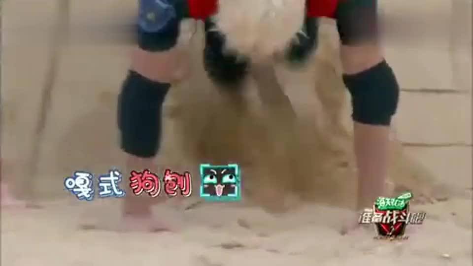 王嘉尔就是开心果,嘎式狗刨亮了,小腿倒腾得飞快效果卓著