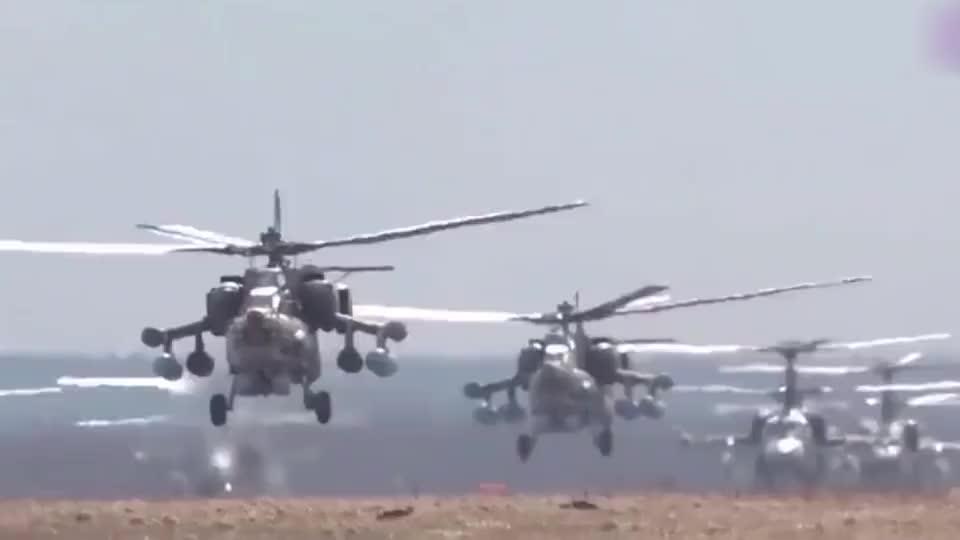 实拍俄罗斯空军全明星阵容