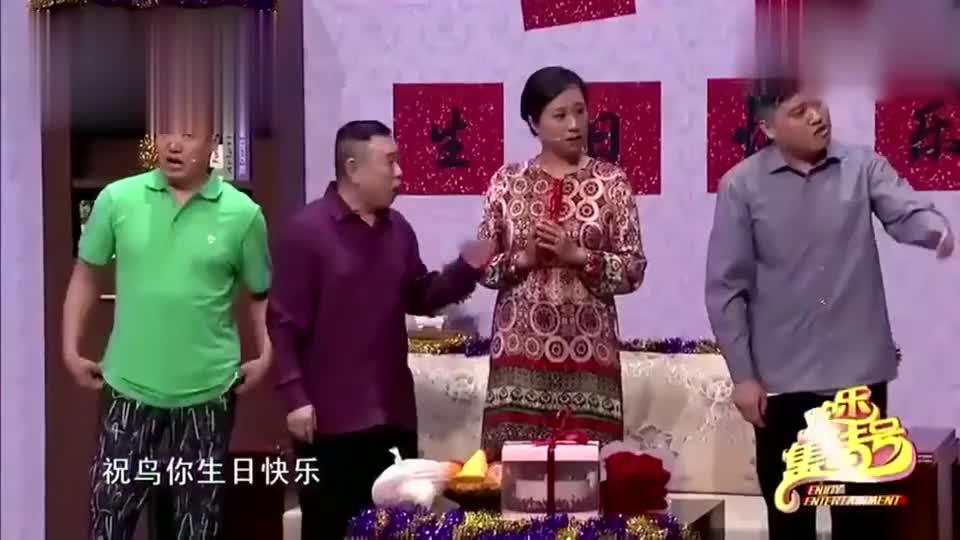 潘长江唱完生日歌,一位不速之客就上门了,开门一看吓毛了