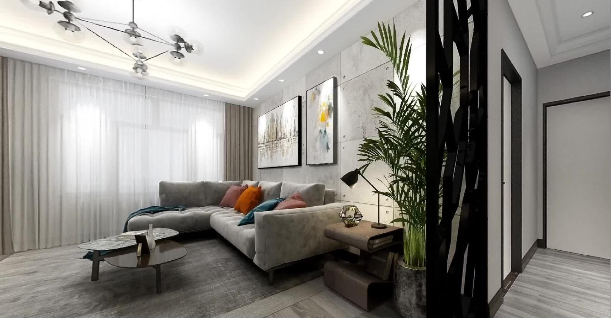 小户型能装出大房子的效果,恐怕也只有现代简约风格能做到了