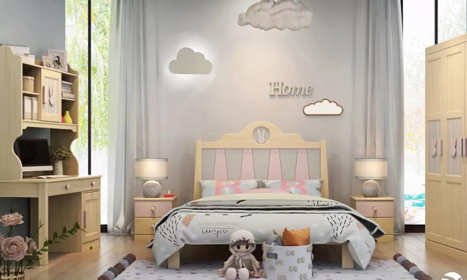 兼具趣味整洁的儿童房怎么设计?精巧划分儿童房收纳技巧分享