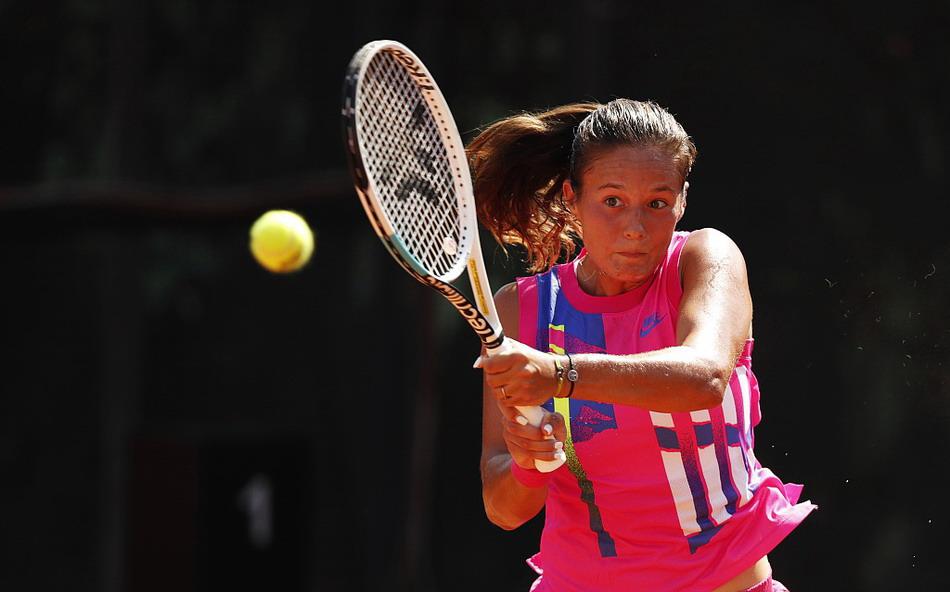 2020年意大利罗马网球公开赛女单次轮,卡萨金娜2-0斯尼亚科娃